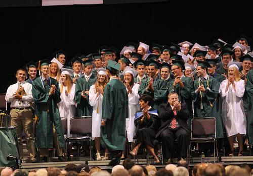2013 Nashoba Graduation at DCU Center.