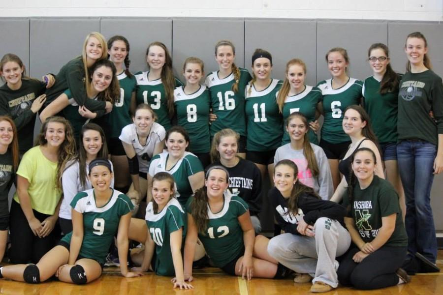 Nashoba Volleyball in the Zone