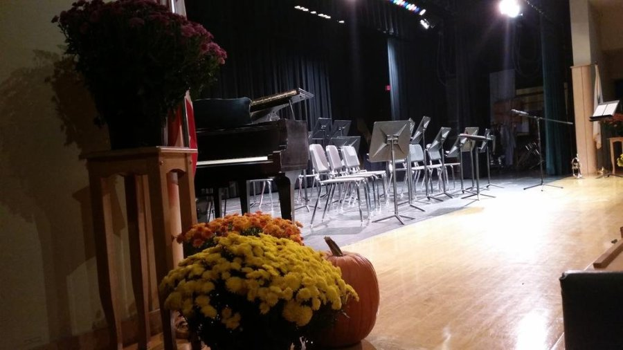 Jazzy and Eerie Tones at the Fall Band Concert