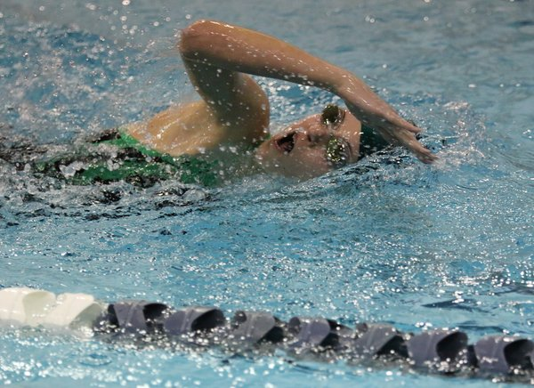Nashoba Swim Team Records Crashing In