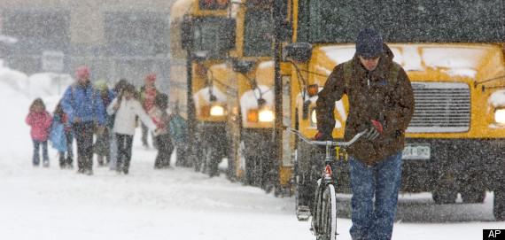 Do Away with Snow Days?