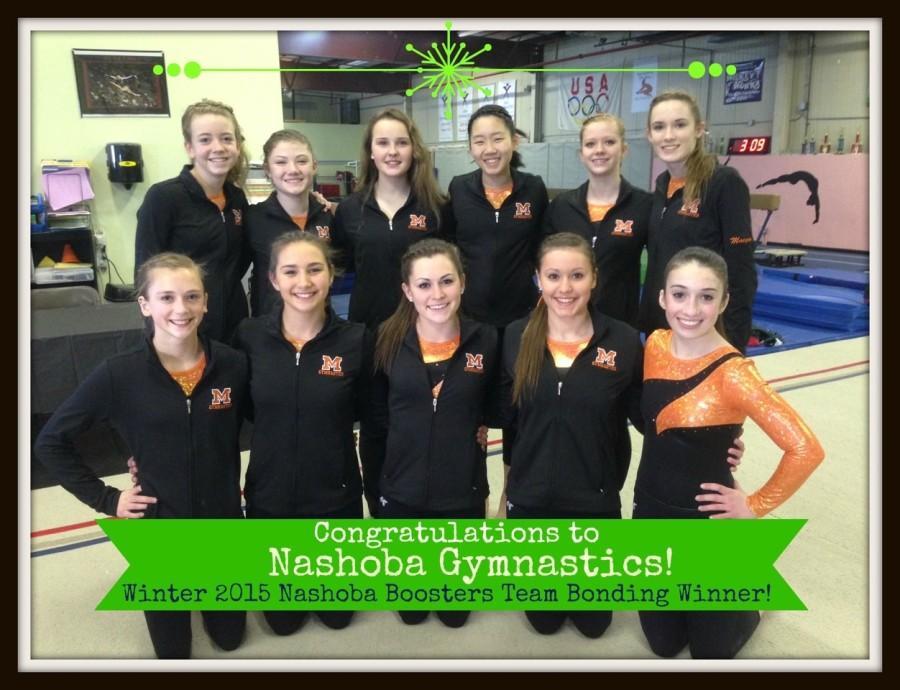 Gymnastics+Team+Wins+Winter+Team+Bonding+Contest
