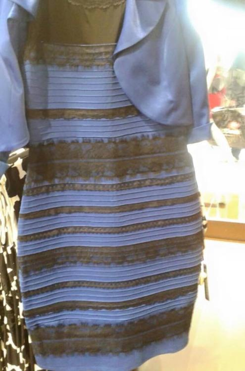 The Dress is Blue and Black, don't be Stupid