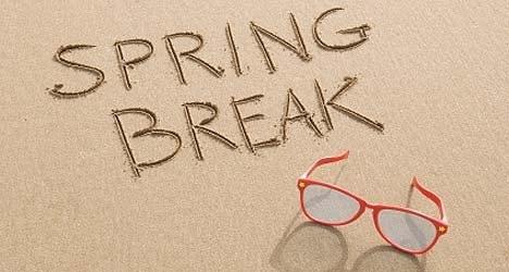 Ideas about Spring Break