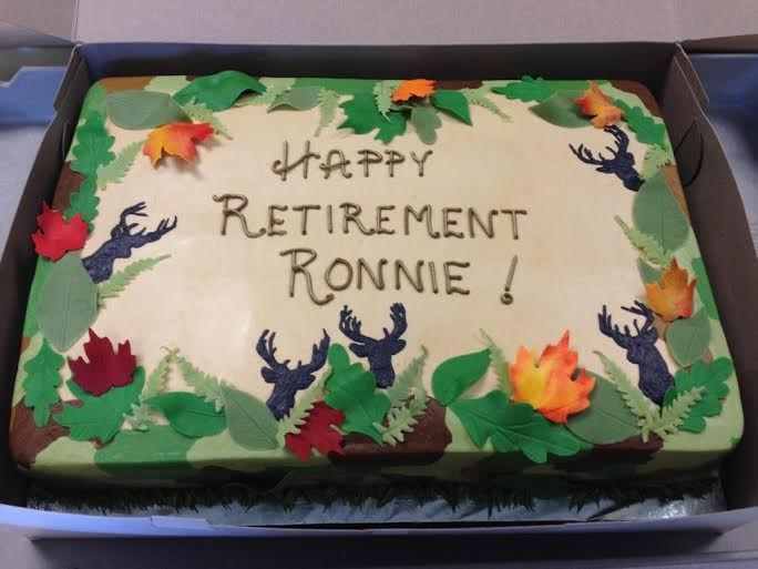 Ronnie Retires