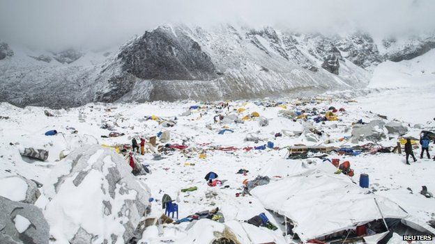 Nepal Earthquakes Affect on Mt. Everest
