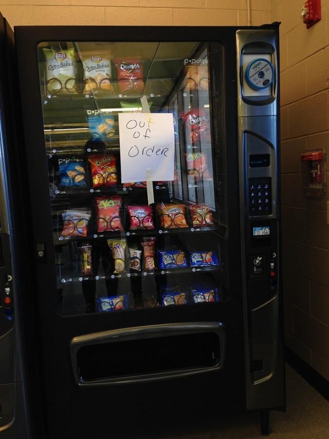 Vending Machine Mishaps