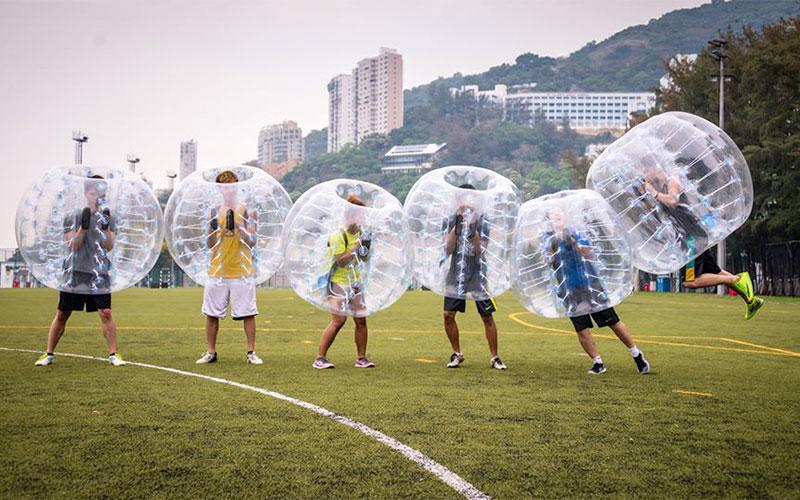 Let the Bubble Games Begin