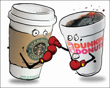 Dunkin' Donuts v. Starbucks