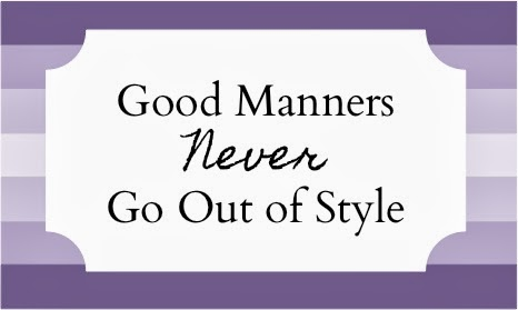 The Matter Of Manners