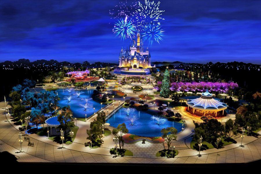Concept art of Shanghai Disneyland Park Photo courtesy of Disney Parks