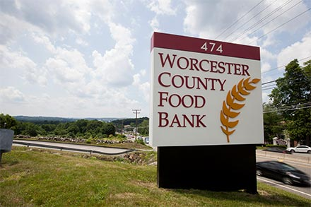 Photo courtesy of the Worcester County Food Bank