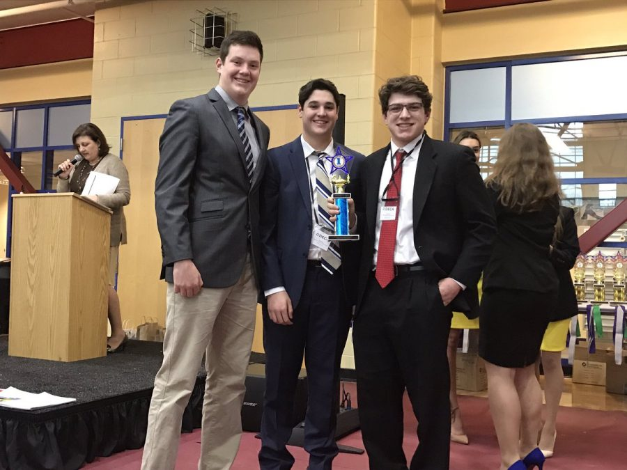 Alex Jacobs, Owen Fay and Jacob Fire receive first in BMOR