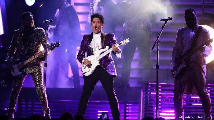 Bruno Mars Contribute To Prince