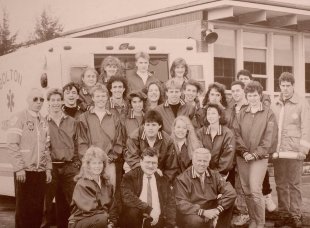 The first cadet class 1987-1988. Courtesy Christina Hernon