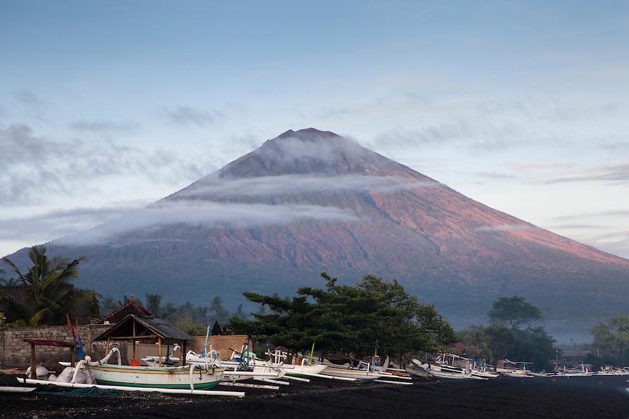 Amed village, East Bali, Indonesia