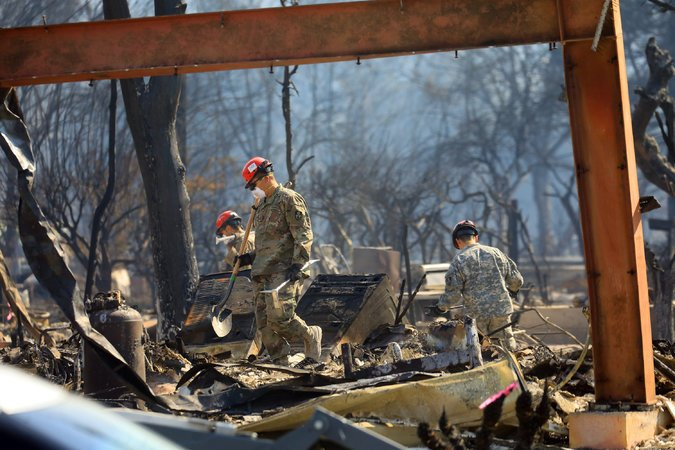 Update on California Fires