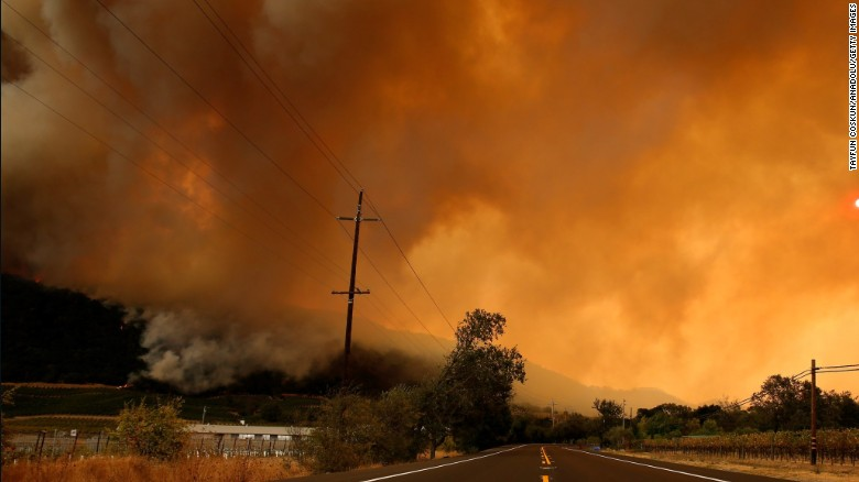 North California Devastated by Wildfires