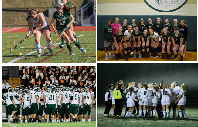 Football and Field Hockey photo by Sentinel Enterprise.