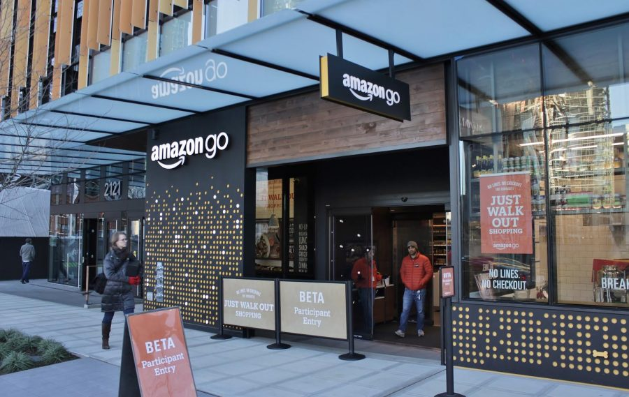 Amazon High Tech Grocery Stores