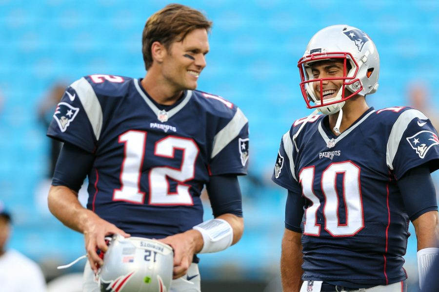 Garrapolo traded, Brady left with no Backup