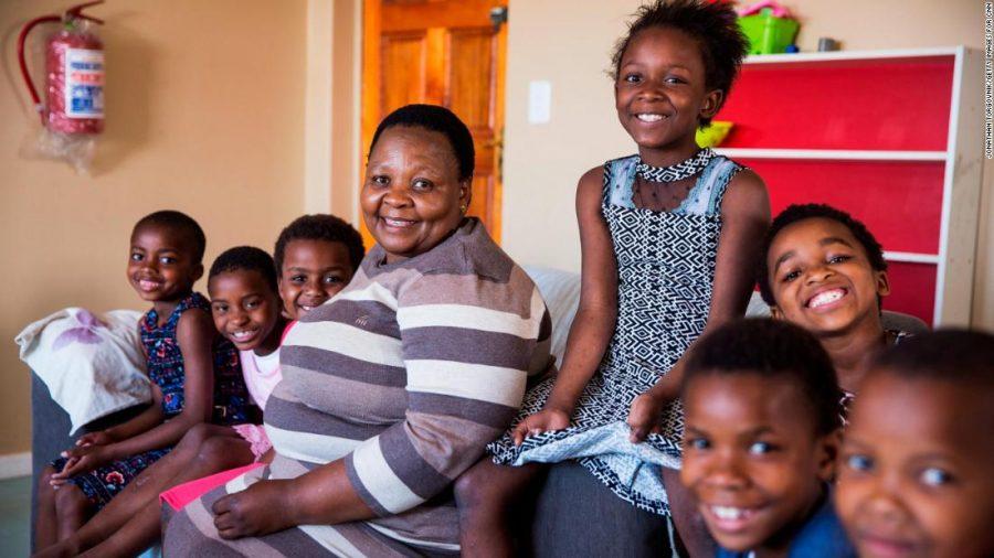 KHAYELITSHA, SOUTH AFRICA: CNN Hero 2017 - Rosie Mashale, Founder and Managing Director of Baphumelele.  CNN Heroes 2017 - Rosie Mashale shoot ID: 27437_004  Photograph by: Jonathan Torgovnik ??