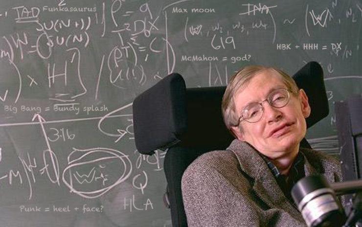 Dr. Stephen W. Hawking, taken from wccftech