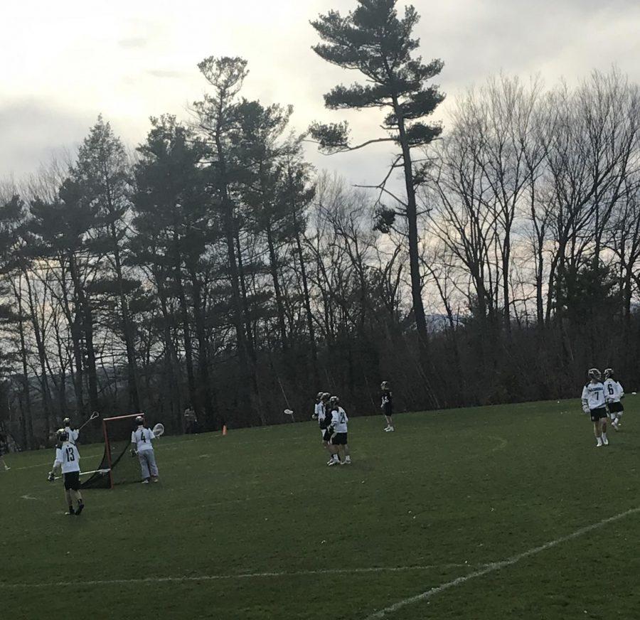 Nashoba Varsity Lacrosse takes on Littleton