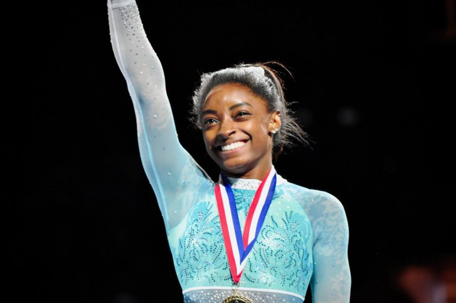 Simone Biles won her fifth National Championship.  She won first in all four of the events (floor, uneven bars, beam, and vault)