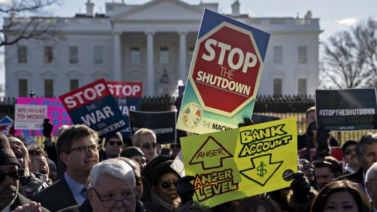 The Government Shutdown's Effects on Economy