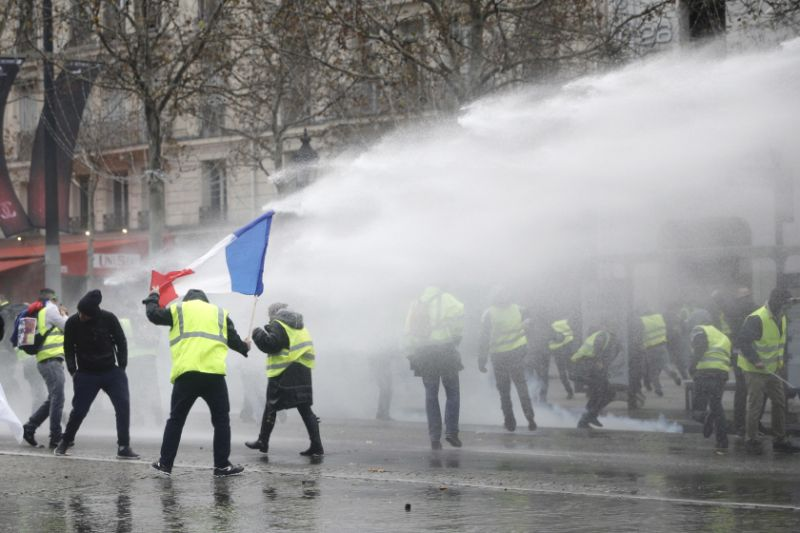 Yellow Vest Riots Set Fire to Government Tax on Fuel