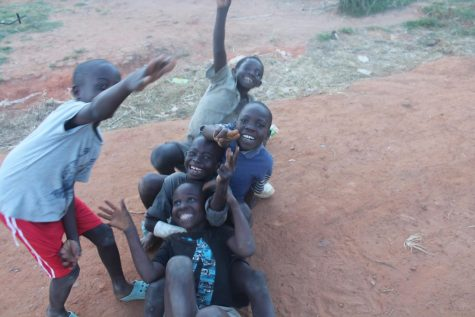 "Kids from the recent service trip to Malawi (aka the ""Warm Heart of Africa"")"