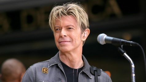 Bowie in action