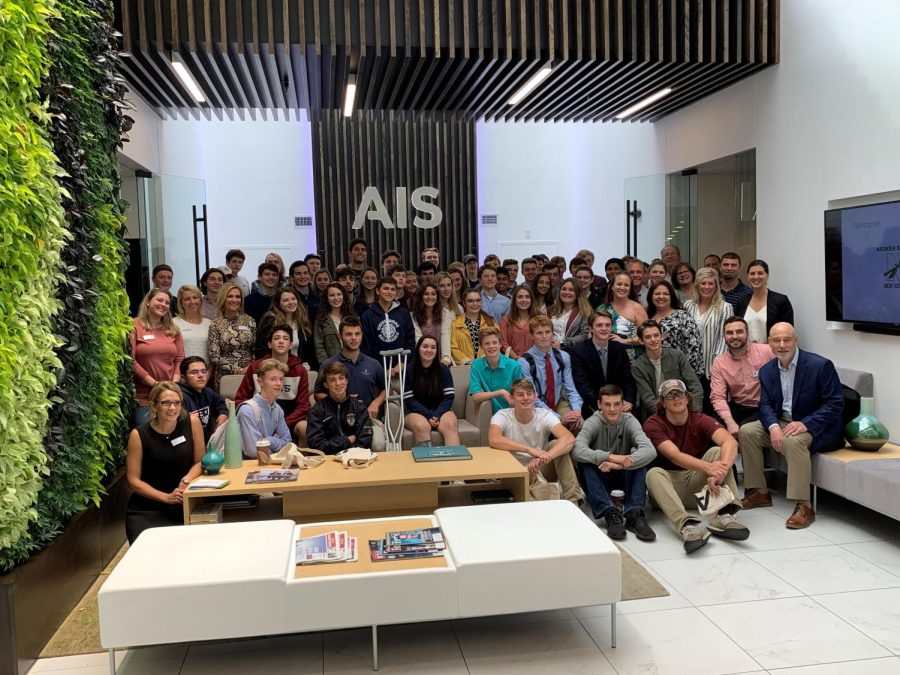 NRHS+students+celebrate+Manufacturing+Month+with+AIS+during+a+recent+field+trip.+