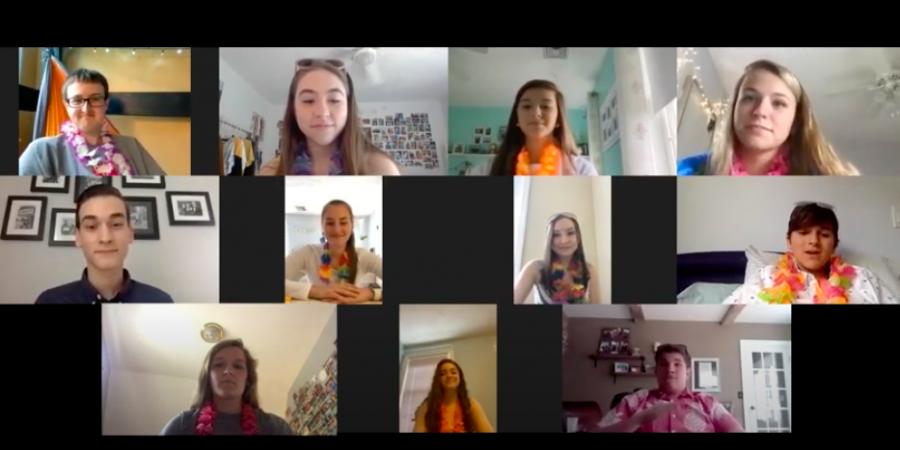 Juniors Celebrate with a Virtual Prom